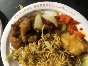 Orange Chicken met Chow Mein