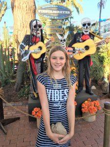 Isabelle bij Old Town San Diego